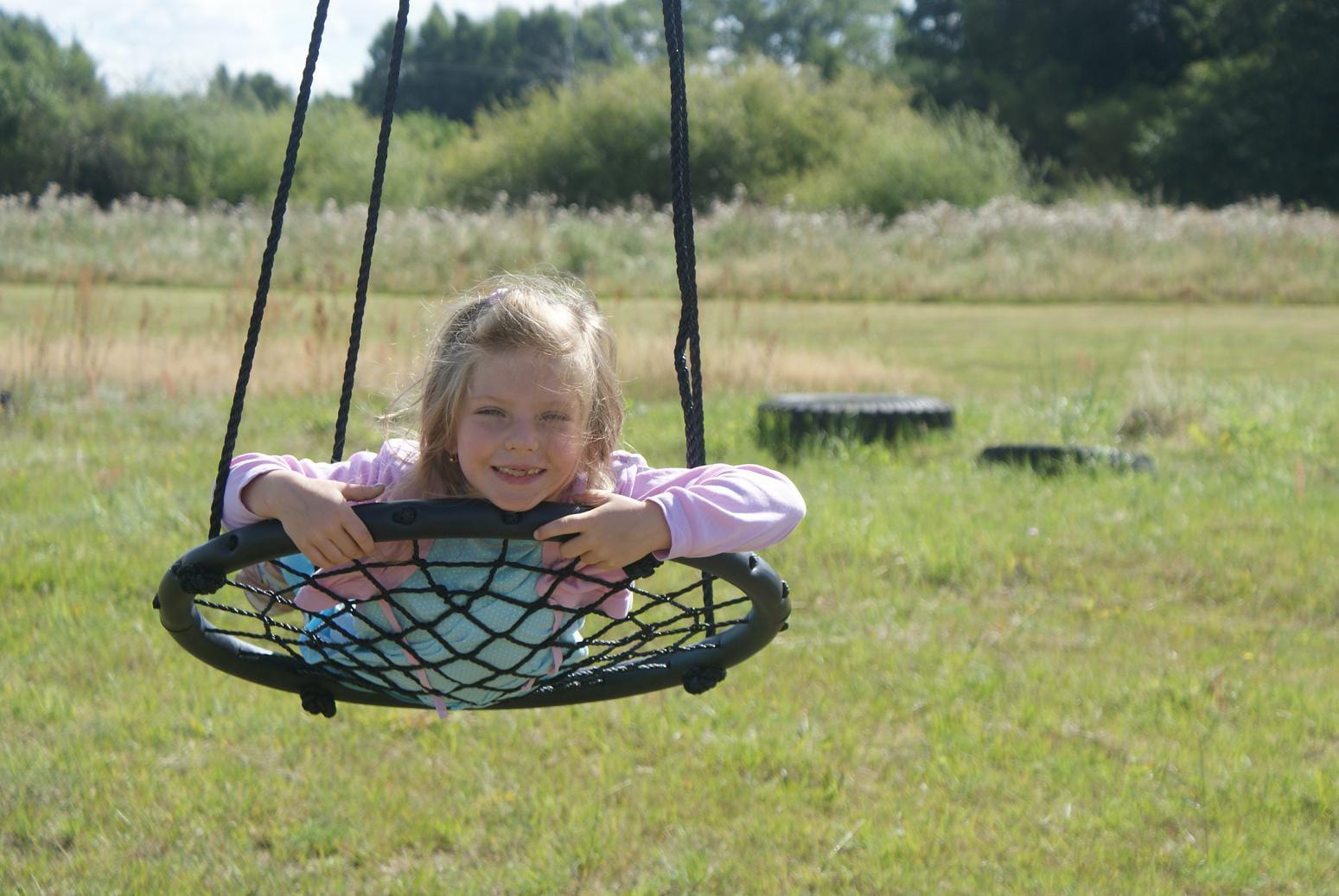 Hustawka Ogrodowa Dla Dzieci Allegro : Huśtawka Ogrodowa Bocianie Gniazdo Pajęczyna Sieć  3510707665