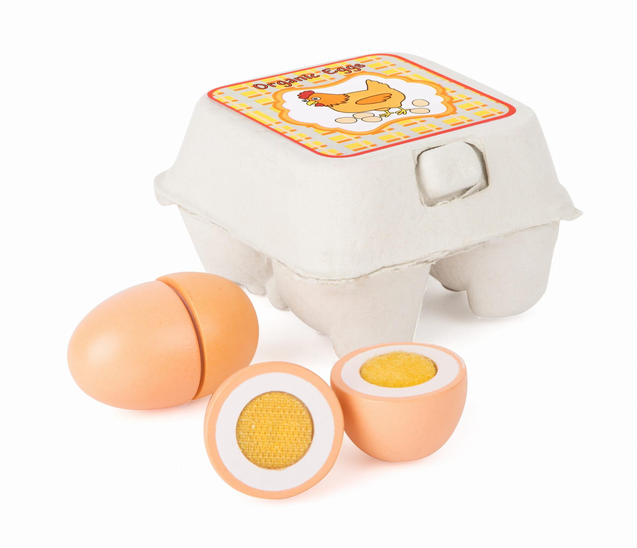 Jajka Drewniane Do Zabawy W Gotowanie Dla Dzieci Small Foot Design